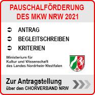 PAUSCHALFÖRDERUNG des MKW NRW für die Dachverbände der Laienmusikvereine der AG Laienmusik im LMR NRW