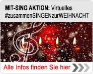 MIT-SING AKTION: Virtuelles #zusammenSINGENzurWEIHNACHT
