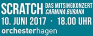 cratch - Das Mitsingkonzert CARMINA BURANA